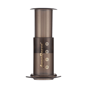 AeroPress for brewing coffee at home