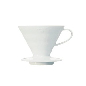 Ceramic Hario V60 ideal for brewing coffee at home