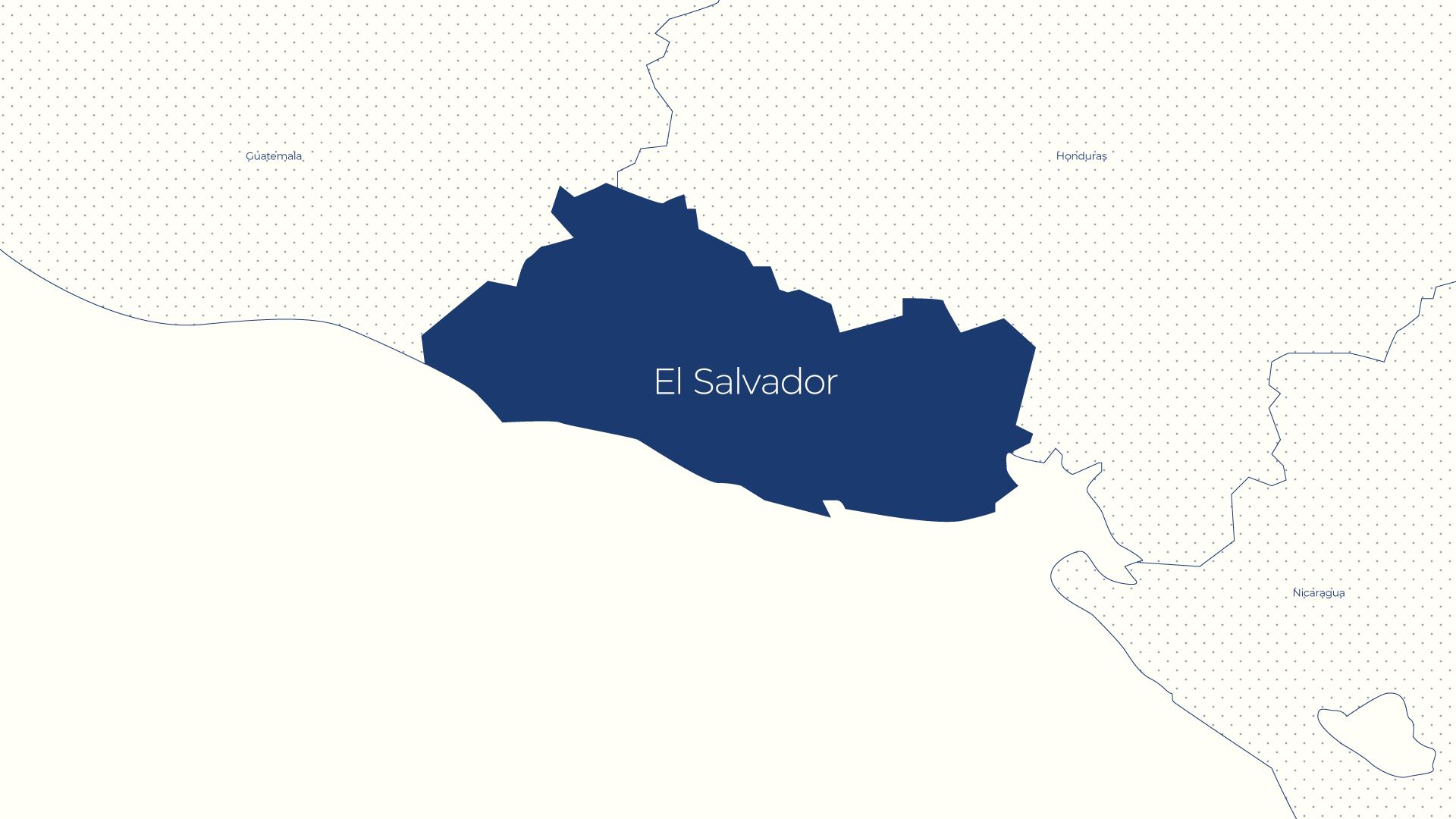 El Salvador Coffee Map