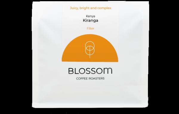 A retail bag of Kiranga filter coffee